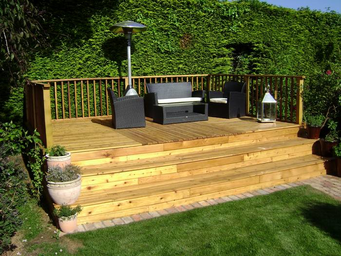 Oakdene landscapes ltd delgany co wicklow ireland for Garden decking features
